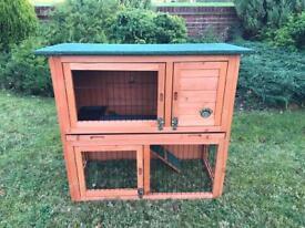 3ft rabbit hutch new