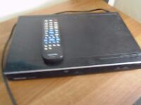 Toshiba DVD player - hardly used reads DIVX