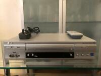 LG LV880 VHS VCR 6 Hd Nicam Video Player Recorder - Remote Included