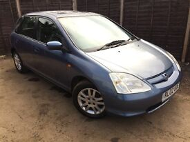Honda Civic SE Exective 2002 - 2 Owner Car - Leather - Sunroof - History - Quality Car