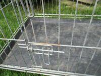 Dog / Pet Cage. 90cm x 55cm x 65cm. £10