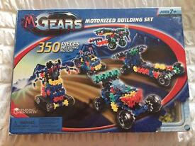 Gears motorised building set