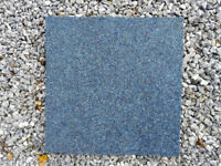 Lot of approx 214 Blue Carpet Tiles (500x500mm)
