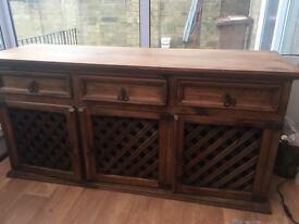 Beautiful made Mexican sideboard