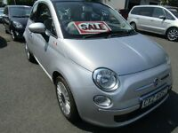 2012 Fiat 500 Lounge £5995 p/x considered