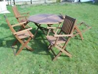 Solid Teak Garden Furniture