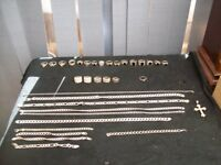 WILL SELL ONE OR TWO ITEMS AT A TIME SILVER RINGS AND CHAINS