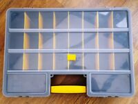 26 compartment organiser 18inch x 12inch x 3inch virtually new condition £6 each + 4 available!