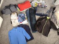 Huge bundle of boys clothes age 4-5 inc Ralph Lauren, regatta, next, converse