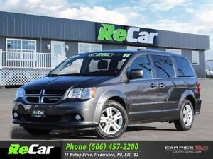 2017 Dodge Grand Caravan Crew REDUCED | 7-PASSENGER | HEATED...