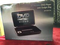 "Bush 10"" Portable DVD Player with Gadget bag"