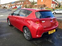 Toyota Auris, 2015, Red, 1.6 Petrol, 6 Speed Manual, Only 22k Low Miles, QUICK SALE, BARGAIN PRICE