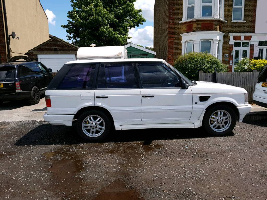 range rover p38 diesel auto white 7 seat conversion in plumstead london gumtree. Black Bedroom Furniture Sets. Home Design Ideas