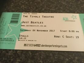 BEATLES TRIBUTE, TIVOLI