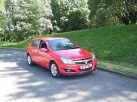 57 PLATE VAUXHALL ASTRA 1.6 BREEZE NEW MOT FSH DRIVES LIKE NEW 2 OWNERS