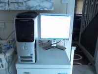 dell pc 9150 with two screen (clear price)