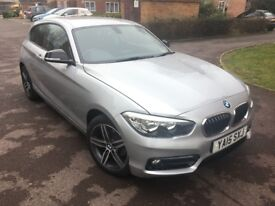 BMW 1 Series 1.5 116d Sport Sports Hatch - Silver - Amazing Car - Amazing Condition - New Shape