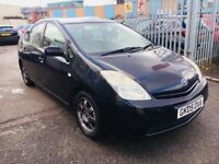 TOYOTA PRIUS HYBRID ELECTRIC AUTOMATIC 1.5 PETROL 2005 BLACK DRIVES NICE