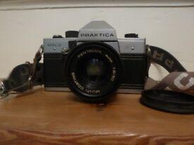 SLR Praktika camera