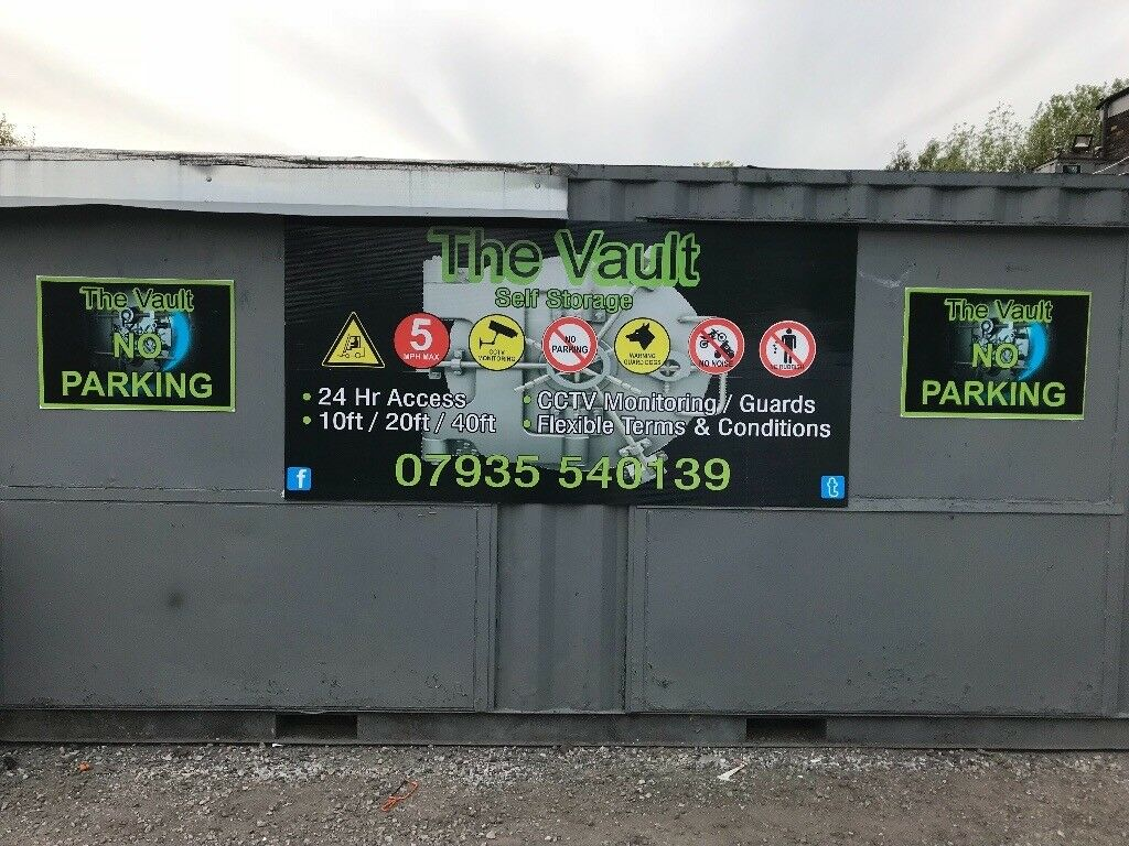 Shipping container self storage 20ft in Failsworth Manchester