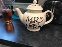 Emma Bridgewater Mr & Mrs 4-cup Teapot