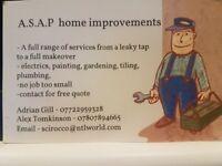 A.S.A.P home improvements