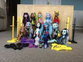 Monster High Doll bundle and accessories