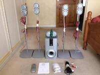 -SOLD- Surround Sound System 5.1 Channel 100W. Good Condition *FREE DELIVERY WITHIN 10 MILE RADIUS*