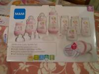 Pink Mam Bottle Set