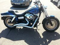 Harley Davidson Dyna Fat Bob FXDF 2009 One owner from new