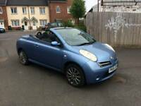Convertible hard top Nissan micra with very low miles ,recent cam belt changed ,1st to see will buy