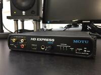Motu HD Express Video Capture Interface