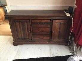 Sideboard wooden