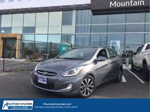2017 Hyundai Accent GLS   SUNROOF   ALLOYS   DEMO  