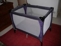 Travel cot (John Lewis Baby) Great condition