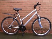 Ladies front suspension mountain bike