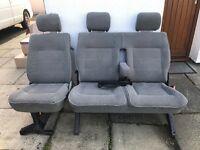 Vw T4 carvelle rear seats