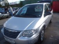 Chrysler VOYAGER,2499 cc 7 seat MPV,great all round family car,runs and drives well,tow bar fitted