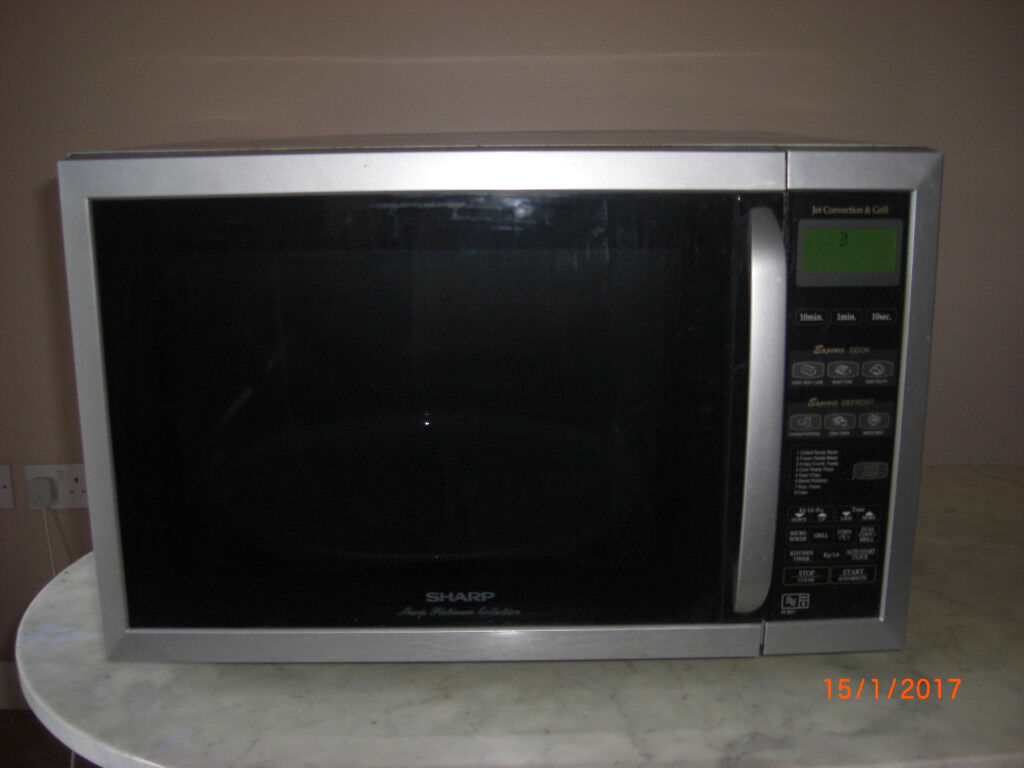 Sharp Combination Microwave Grill Convection Oven 957slm