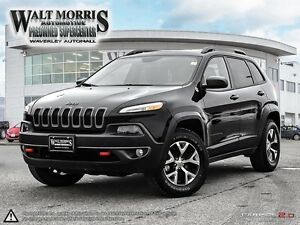 2016 Jeep Cherokee Trailhawk - LEATHER, HEATED SEATS, REAR VIEW
