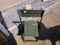 Fishing seat used