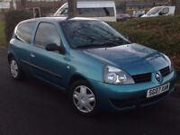 2007 RENAULT CLIO CAMPUS 1.2 **EXCELLENT CONDITION** CHEAP TO RUN