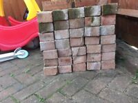 Free for collection red building bricks