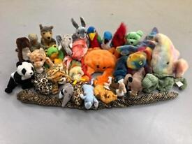 31x TY Beanie Babies Plush Toys