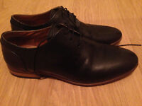 Topman smart black shoes size 7 used only for a wedding weekend