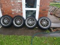 Selling alloy wheels (5x100, 5x112, Audi, Seat, VW, Skoda, Mercedes)