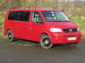 VW Transporter Shuttle T30 1.9 TDi (104) 8 Seater LWB 2005