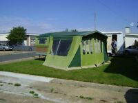 Trailer tent classic Chateau mobile collectors club etc.