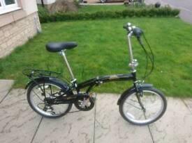 Folding Darley freespirit bike