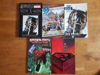 Marvel and DC comics bundle (X-Men, Spiderman, Superman)